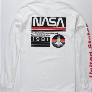 Neon Riot NASA long sleeved tee